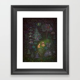 The Woods: Hansel & Gretel Framed Art Print