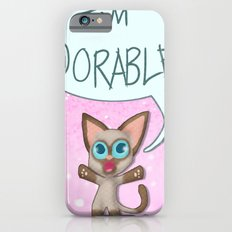 Adorable Siamese Cat iPhone 6s Slim Case