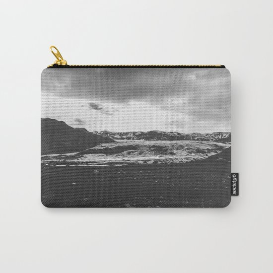 Ice giant - black and white landscape photography Carry-All Pouch