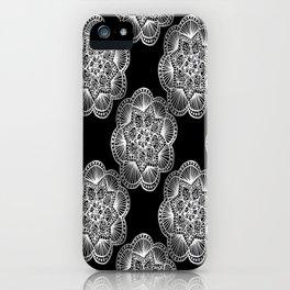 Tangled Mandala Pattern iPhone Case
