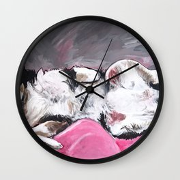 Aussie Shepherd Bo Wall Clock