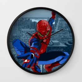 Amazing Spider-Man (Comic Title) Wall Clock