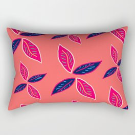 Lots of leaves - Art print Rectangular Pillow