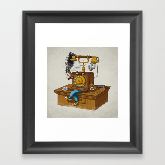 Criminal Business Framed Art Print