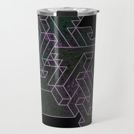 Distorting Darkness Travel Mug