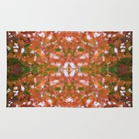 hippie Area & Throw Rugs featuring HIPPIE by kelleyinthemorning