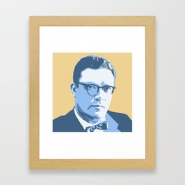 Isaac Asimov Framed Art Print