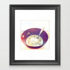 breakfast medley Framed Art Print