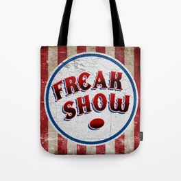 """FREAK SHOW"" Bullet Tote Bag"