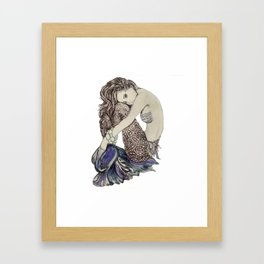 Isla  Mermaid Framed Art Print
