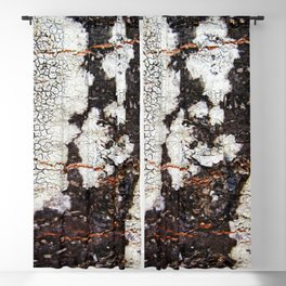 Tree bark naural pattern 2 Blackout Curtain