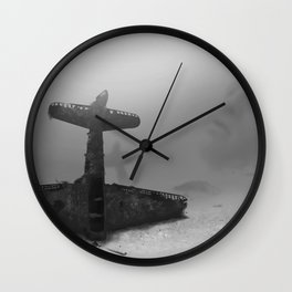 Under The Surface I Wall Clock