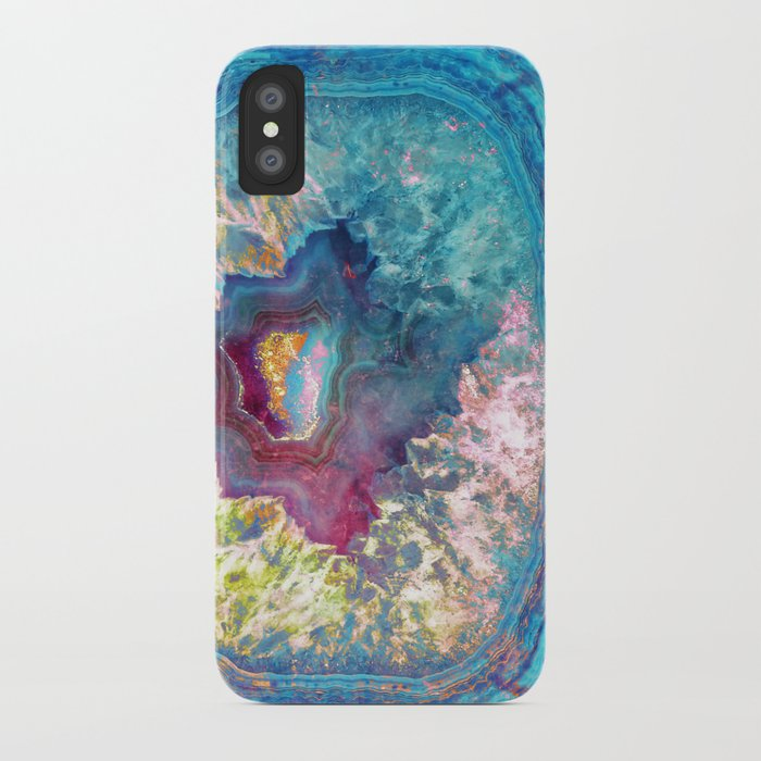 Abalone Geode iPhone Case