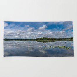 Tranquility At Its Best 2 - Alaska Beach Towel