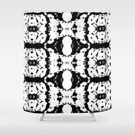 kaleidoscope pattern Shower Curtain