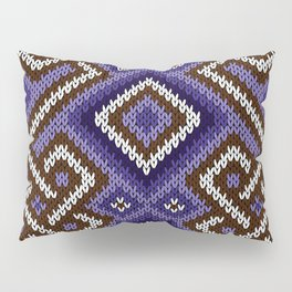 Knitted Textile Decorative Pillow Sham