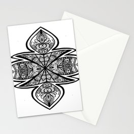 Fury Mandala Stationery Cards