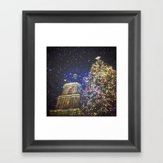 festive greetings ^_^ Framed Art Print