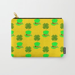 St Paddys Day Luck Carry-All Pouch