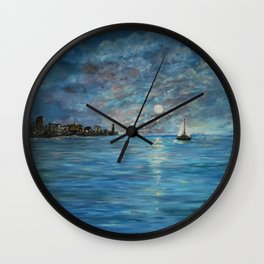 On Our Way Home -#2 Wall Clock