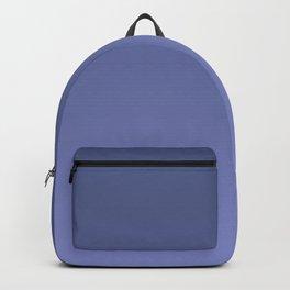 Dusky blue gradient. Ombre. Backpack
