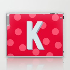 K is for Kindness Laptop & iPad Skin