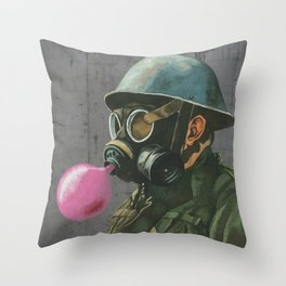 Birthday soldier Throw Pillow
