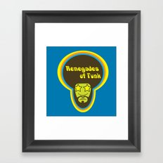 renegades of funk Framed Art Print