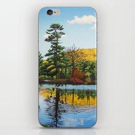 Ivy Island in Autumn iPhone Skin