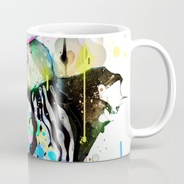 Ink Fight Colors Coffee Mug