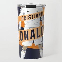 Cristiano Ronaldo - Real Madrid  Travel Mug