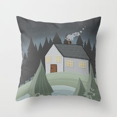 Place to Be Throw Pillow