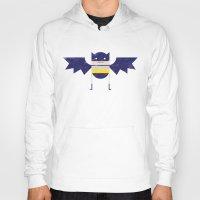 bat man Hoodies featuring Man Bat by John Trivelli