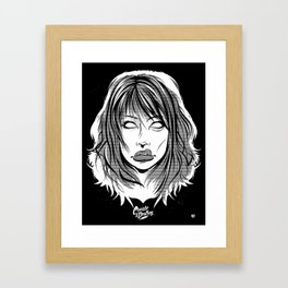 Right Through You Framed Art Print