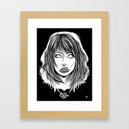 Right Through You Framed Art Print