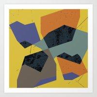 abstract  / 049 Art Print