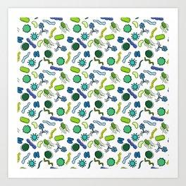 Microbiology - Color Art Print