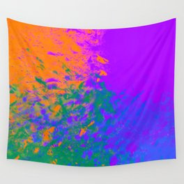 Iridescent Fury Wall Tapestry