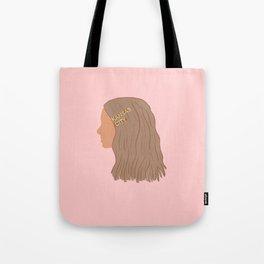 KC Barrette Girl Tote Bag