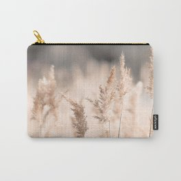 Neutral Tone Pampas Grass, Reed Carry-All Pouch