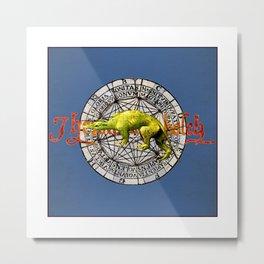 Bosch Green Beast Metal Print