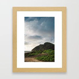 Makapu'u Point Lighthouse Framed Art Print