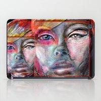 mirror iPad Cases featuring mirror by Irmak Akcadogan