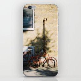Red Bike iPhone Skin