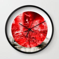 Land of the Rising Sun Wall Clock