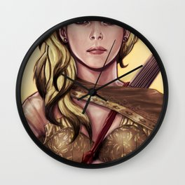 Meeka Up Close Wall Clock