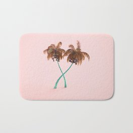golden palms Bath Mat