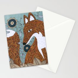 The Secret Visitor Stationery Cards