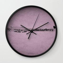 Prélude à l'après-midi d'un faune Wall Clock