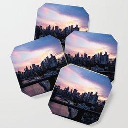 New York City Sunset Coaster